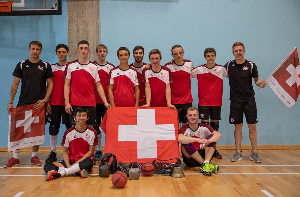 3e place pour la Suisse au championnat d'Europe juniors