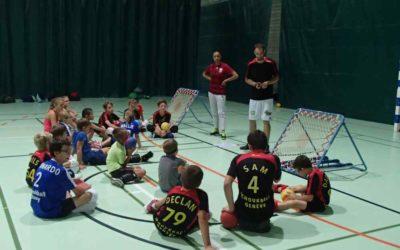 1er camp d'été de Tchoukball en action