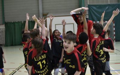 1ère Coupe junior de tchoukball du Grand Genève – M10&M12