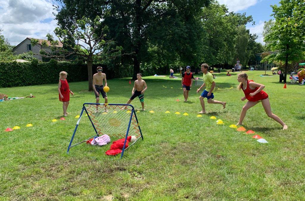 Le Tchoukball Club Vernier au Sport pour tous