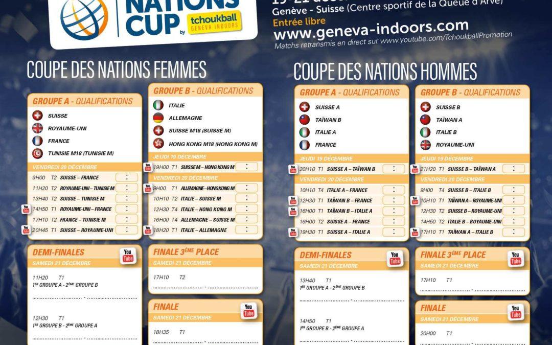 Tchoukball Geneva Indoors – début dans 9 jours
