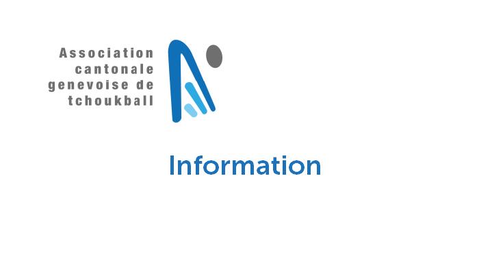 Information sur la reprise des entraînements – situation au 5 septembre 2020