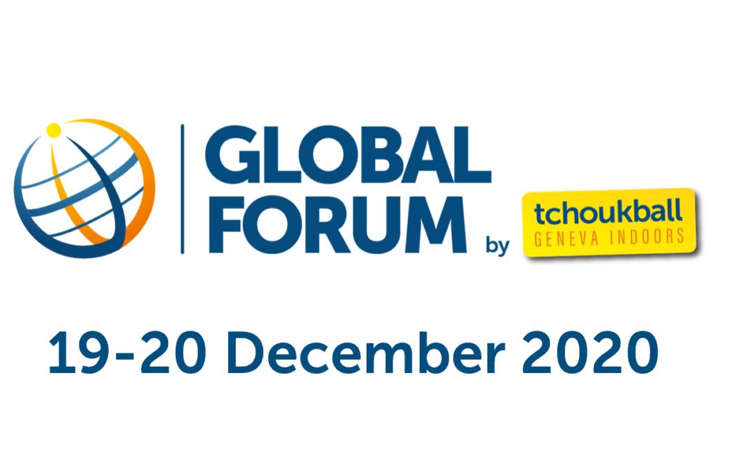 Participez au Forum mondial du Tchoukball