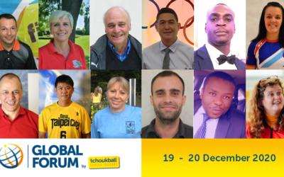 Rejoignez-nous demain pour le Forum Mondial du Tchoukball