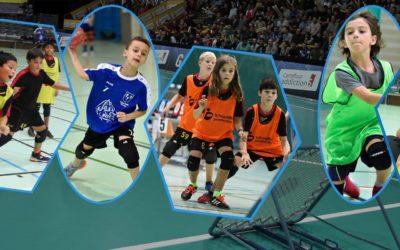 Reprise des tournois juniors de tchoukball