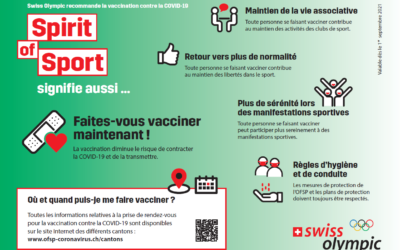 L'ACGT considère la vaccination contre le Covid-19 comme la méthode actuellement la plus simple et la plus efficace pour endiguer la propagation du virus.