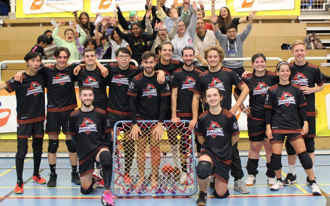 Geneva Dragons – Val-de-Ruz Flyers: Genève remporte son 1er match face au Champion Suisse en titre !